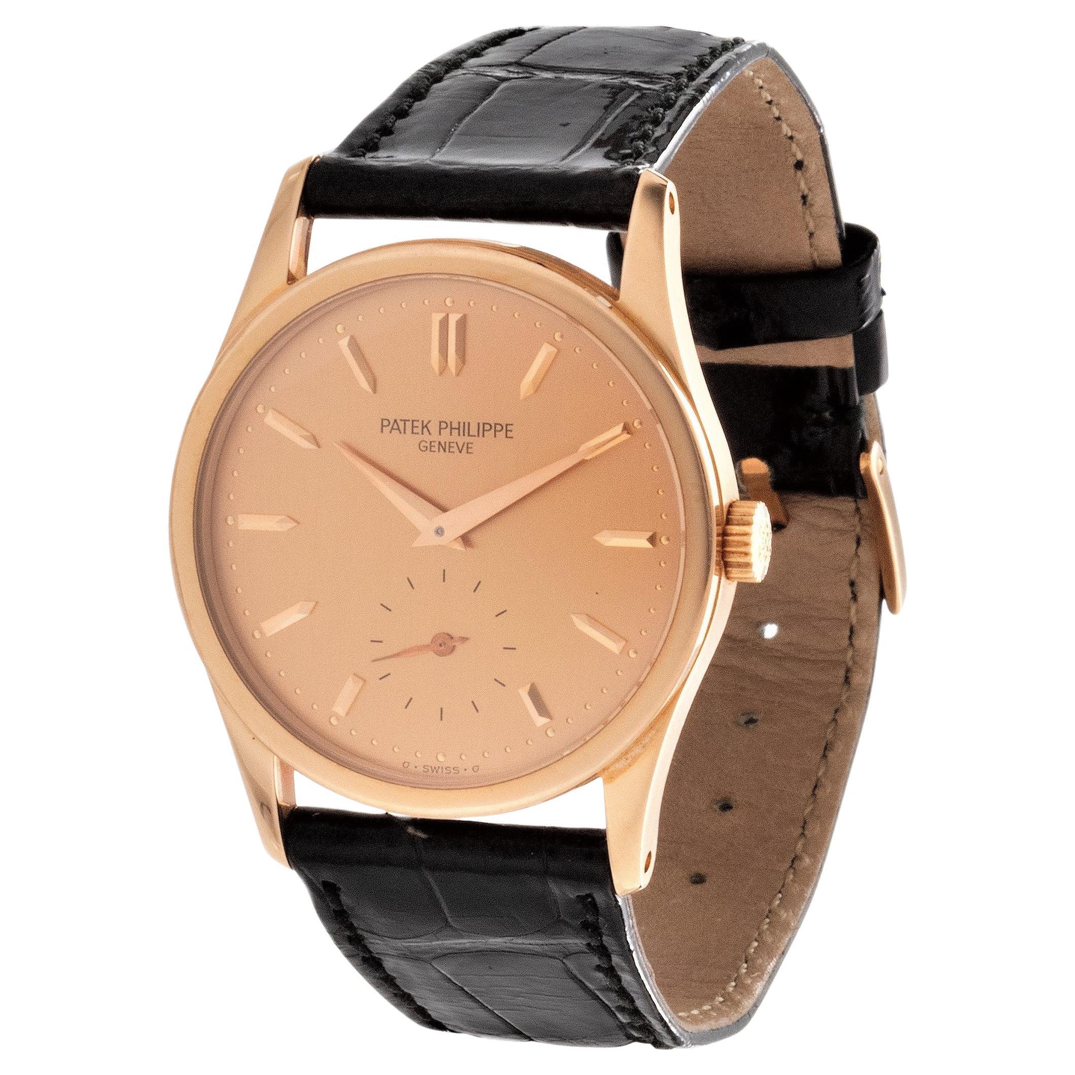 Patek Philippe 3796R Classic Calatrava Watch