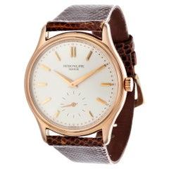 Patek Philippe 3923R Classic Calatrava Watch Rose Gold, circa 1991