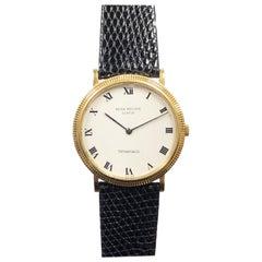 Patek Philippe 3954 Calatrava Yellow Gold Tiffany & Co. Classic Wrist Watch