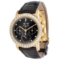 Patek Philippe 3990EJ Perpetual Calendar Chronograph Diamond Bezel, Dial Watch