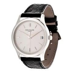 Patek Philippe 3998P Automatic Platinum Calatrava Watch, circa 1999