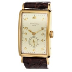Patek Philippe 431J Extra Large Curved Rectangular Art Deco Watch