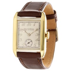 Patek Philippe 45JG Art Deco Yellow and White Gold Watch, circa 1926