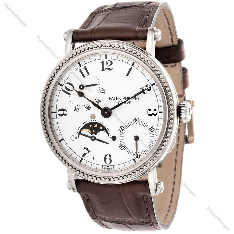 Modern Patek Philippe 5015G Calatrava Watch For Sale