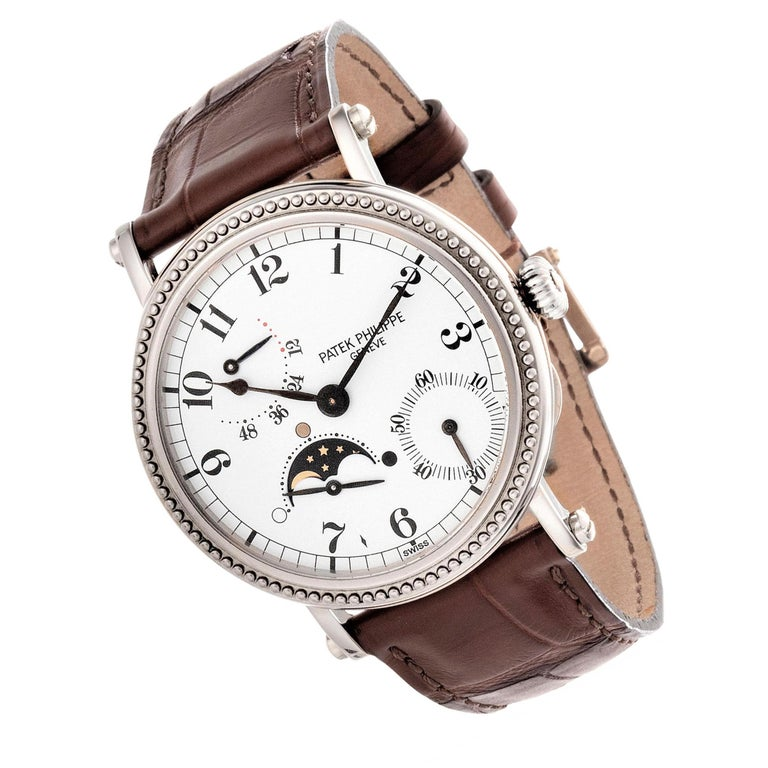 Patek Philippe 5015G Calatrava Watch In Excellent Condition For Sale In Santa Monica, CA