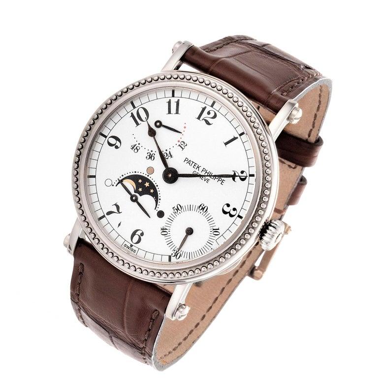 Women's or Men's Patek Philippe 5015G Calatrava Watch For Sale