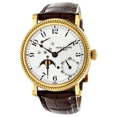 Patek Philippe 5015J Officers Case Complicated Watch, Circa 1995