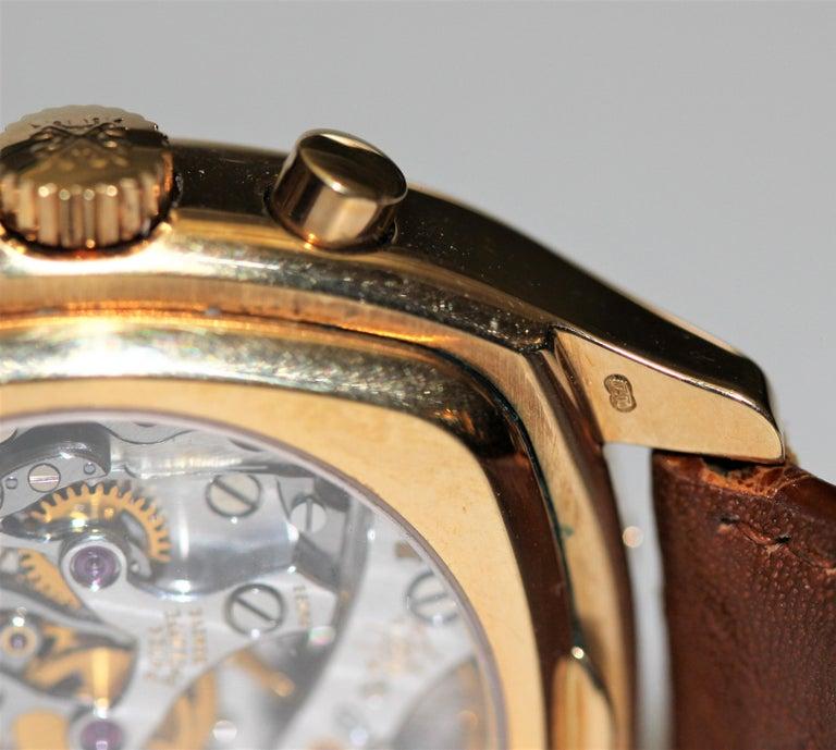 Patek Philippe 5020J Perpetual Calendar Chronograph Watch 'TV Screen' For Sale 2