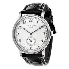 Patek Philippe 5022G Classic Calatrava Officers Breguet Dial Watch, Circa 2000