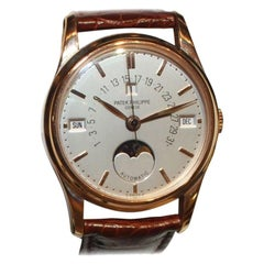 Patek Philippe 5050R 18 Karat Pink Gold Retrograde Perpetual Calendar Wristwatch
