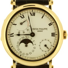 Patek Philippe 5054J Officers Case Complicated Watch, circa 2002
