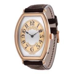 Patek Philippe 5098R Rose Gold Gondolo Watch, circa 2010