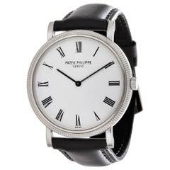 Patek Philippe 5120G Extra Thin Automatic Calatrava Watch White Gold