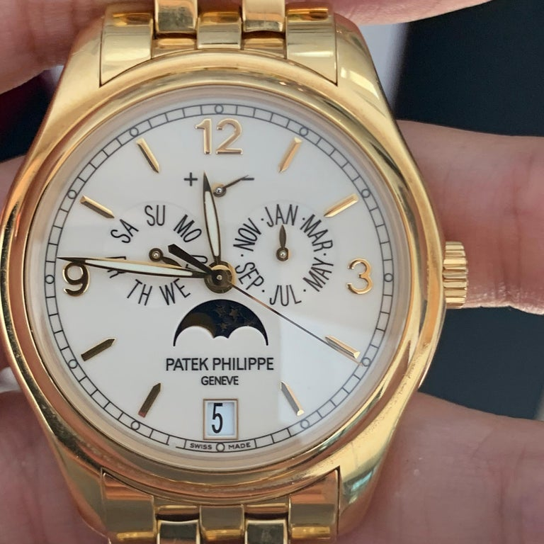 Modern Patek Philippe 5146/1J 5146 Watch Black Dial Box /Papers For Sale