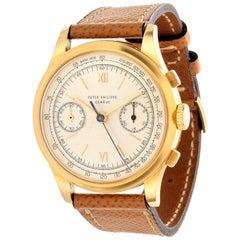 Patek Philippe 530J Jumbo Chronograph Watch, circa 1952