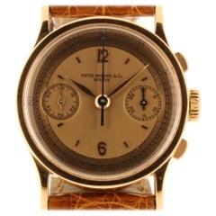 Patek Philippe 533R Vintage Rose Gold Chronograph Watch, circa 1942