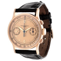 Patek Philippe 533R Vintage Rose Gold Chronograph Watch, circa 1942