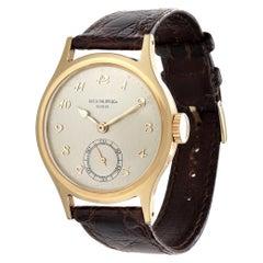 Patek Philippe 565J Water Resistant Calatrava Watch, Circa 1946