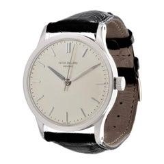 Patek Philippe 570G Calatrava Watch 35.5mm Circa 1968