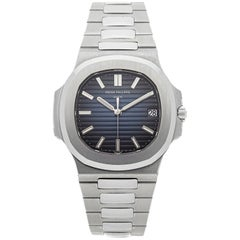 Patek Philippe 5711 Nautilus 40 Anniversary Platinum Watch Box/Cert 'P-54'