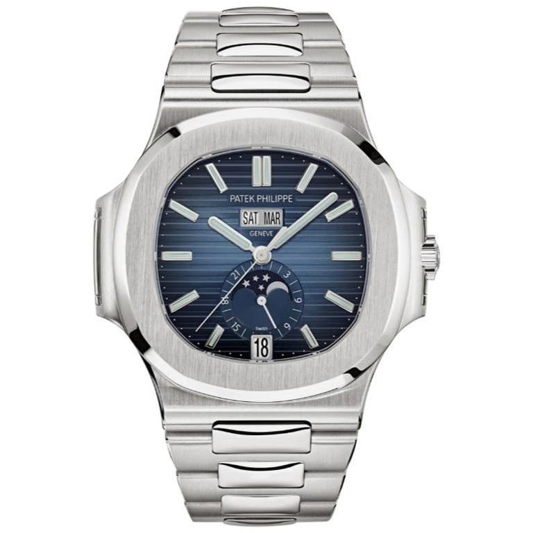 Patek Philippe Nautilus 5726/1A, 2019, offered by Signature of Time