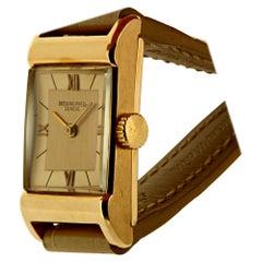 Patek Philippe 583R Vintage Rose Gold Rectangular Watch, circa 1943