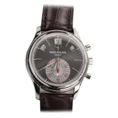 Patek Philippe 5960P-001 Annual Calendar Chronograph Platinum Watch