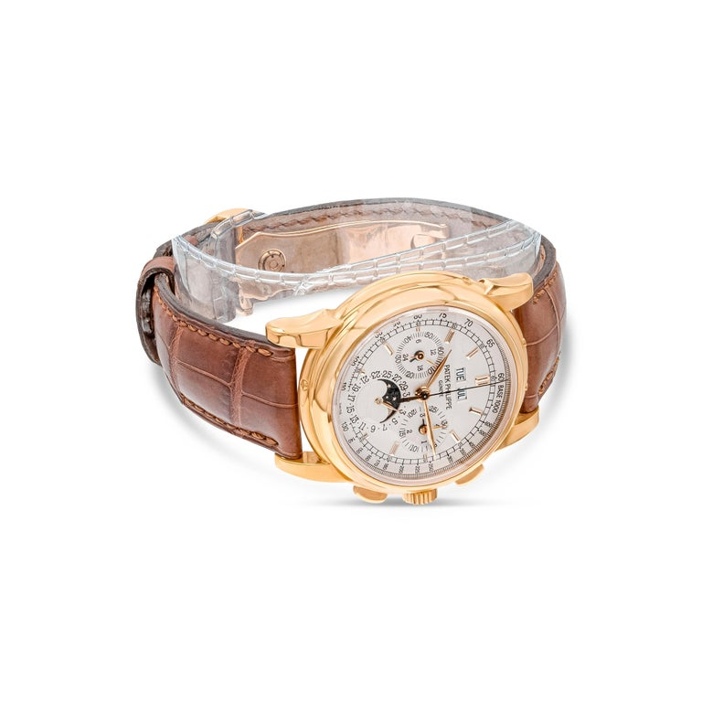 Patek Philippe 5970R Grand Complications Perpetual Calendar Chronograph Watch In Excellent Condition For Sale In New York, NY