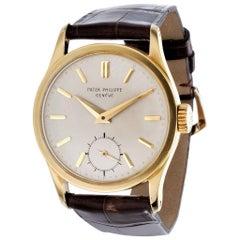 Patek Philippe 96J Original Calatrava Watch, circa 1956