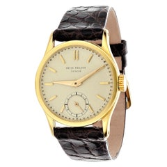 Patek Philippe 96J the 1st Calatrava Watch, Circa 1954