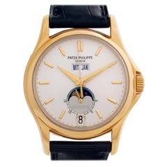 Patek Philippe Annual Calendar 5125J-001, Gold Dial, Certified