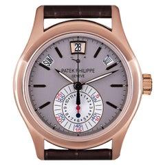 Patek Philippe Annual Calendar Rose Gold Grey Dial B&P 5960R-001