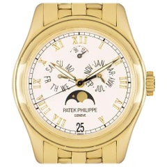 Patek Philippe Annual Calendar Yellow Gold Silver Dial 5036/1J-001 Automatic