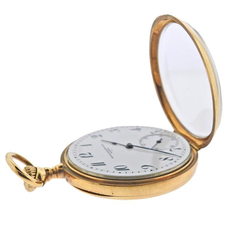 Patek Philippe Antique Gold Pocket Watch For Sale 2