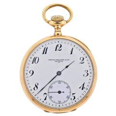 Patek Philippe Antique Gold Pocket Watch