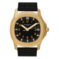 Patek Philippe Aquanaut 5066, Black Dial, Certified and Warranty