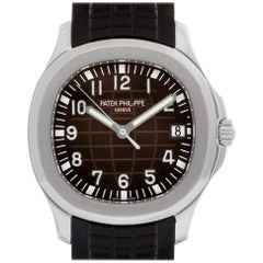 Patek Philippe Aquanaut 5167A-001, Black Dial, Certified &