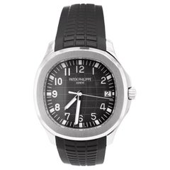 Patek Philippe Aquanaut Chronograph Steel Men's Strap Watch Date 5167A-001