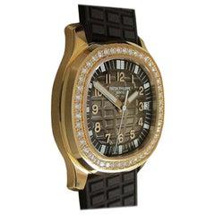 Patek Philippe Aquanaut Luce Rose Gold Diamond Automatic Ladies Watch 5068R-001