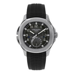 Patek Philippe Aquanaut Stainless Steel Travel Time Watch 5164A-001