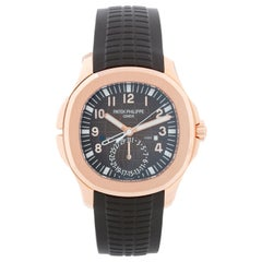 Patek Philippe Aquanaut Travel Time 18 Karat Rose Gold Men's 5164R '5164 R'
