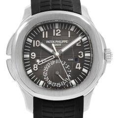 Patek Philippe Aquanaut Travel Time Steel Men's Watch 5164A