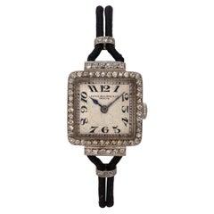 Patek Philippe Art Deco Diamond Wristwatch