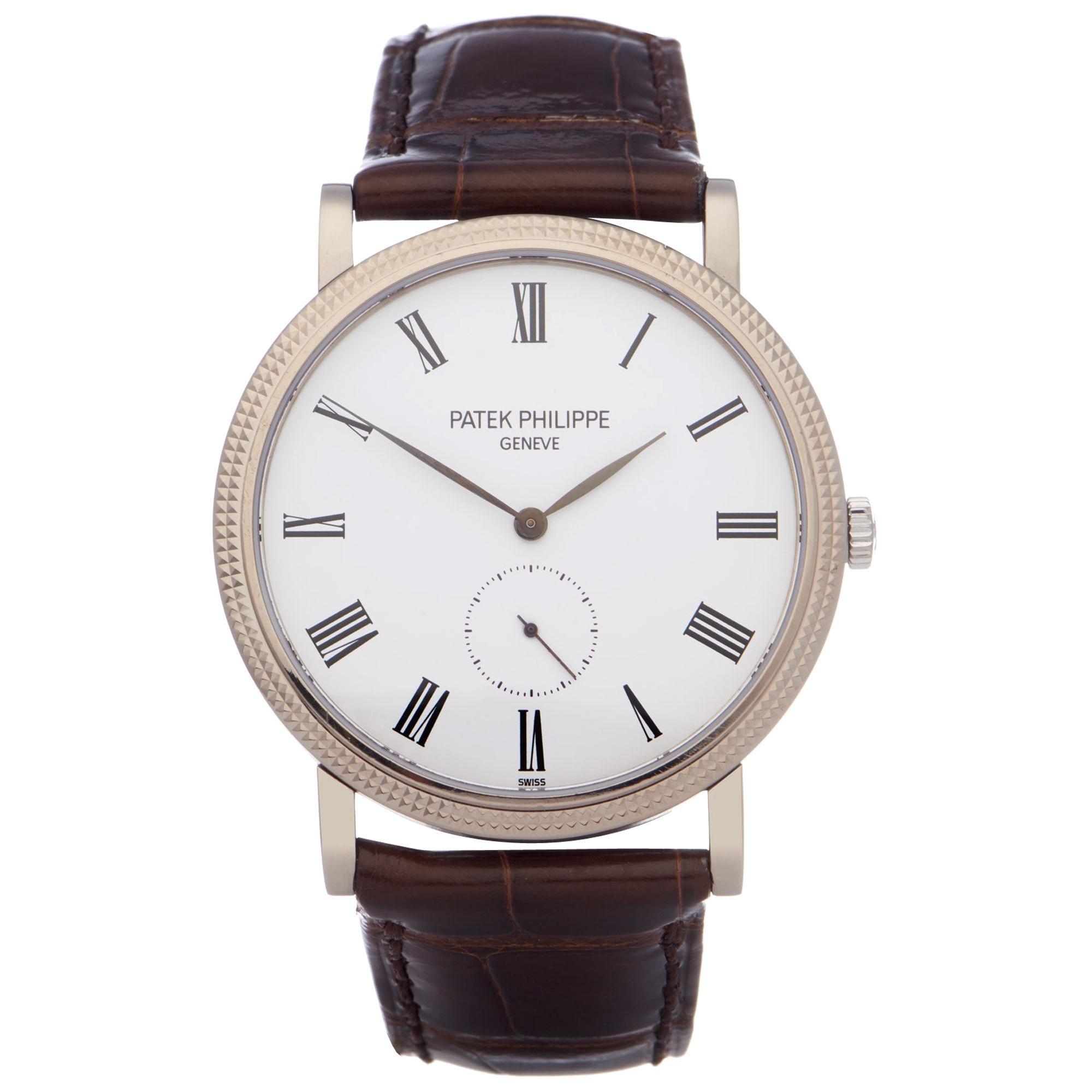 Patek Philippe Calatrava 0 5119G-001 Men Stainless Steel 0 Watch