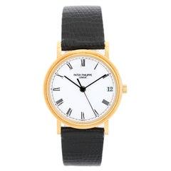 Patek Philippe Calatrava 18 Karat Men's Watch 3802, J 'or 3802J; 3802/200'