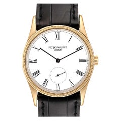 Patek Philippe Calatrava 18 Karat Rose Gold Vintage Watch 3796