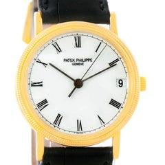 Patek Philippe Calatrava 18 Karat Yellow Gold Automatic Watch 3802