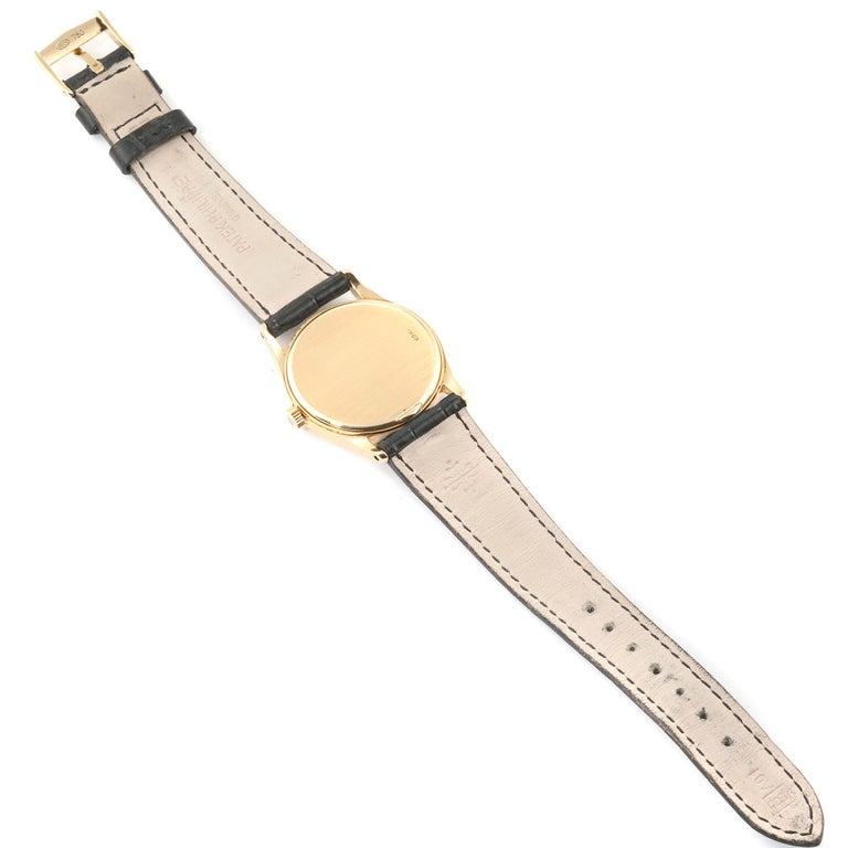 Patek Philippe Calatrava 18 Karat Rose Gold Vintage Watch 3796 6