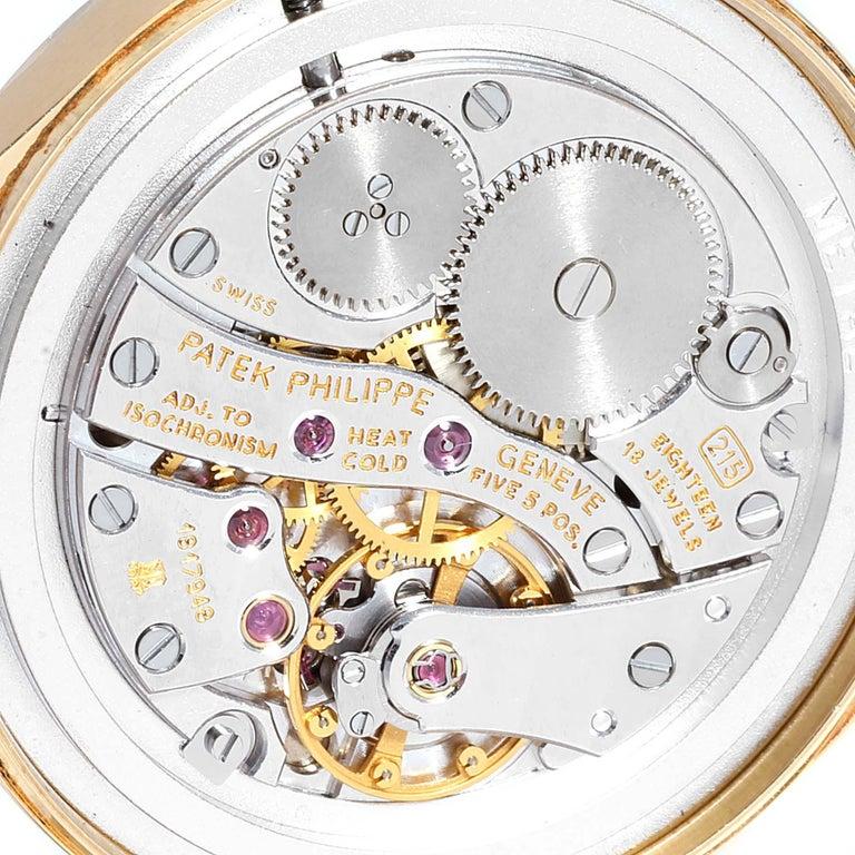 Patek Philippe Calatrava 18 Karat Rose Gold Vintage Watch 3796 4