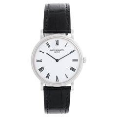 Patek Philippe Calatrava 18k White Gold Men's Watch 5120G
